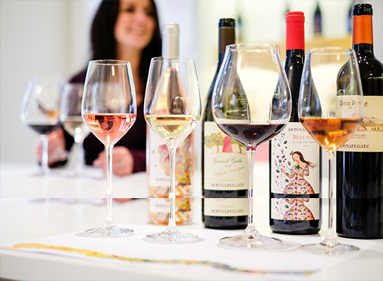 I colori di Donnafugata: tastings sicilian wines Donnafugata